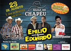 Baile do Chap�u - Em�lio e Eduardo