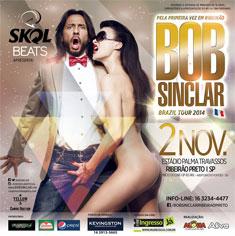 Bob Sinclar - Brazil Tour 2014