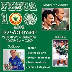 Festa 100 anos Palmeiras