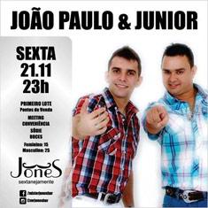 Jo�o Paulo e Junior
