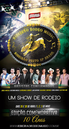 Ribeir�o Rodeo Music 2014