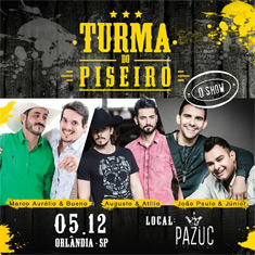 Show - Turma do Piseiro